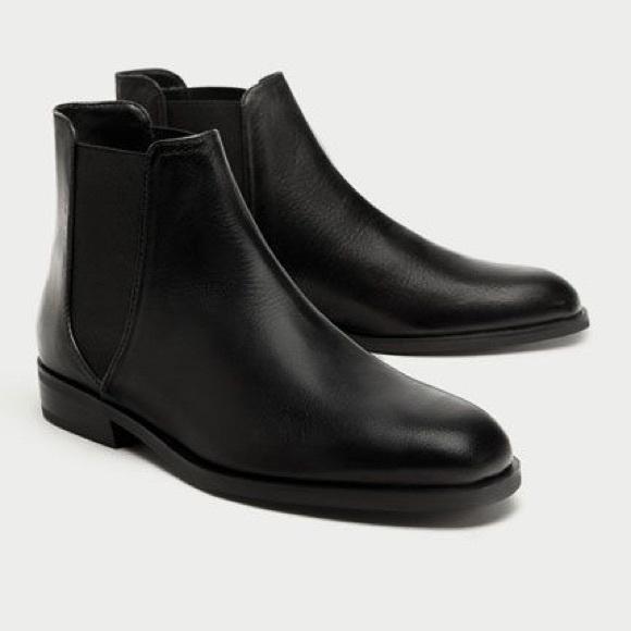 Zara Women's Chelsea Boots 37
